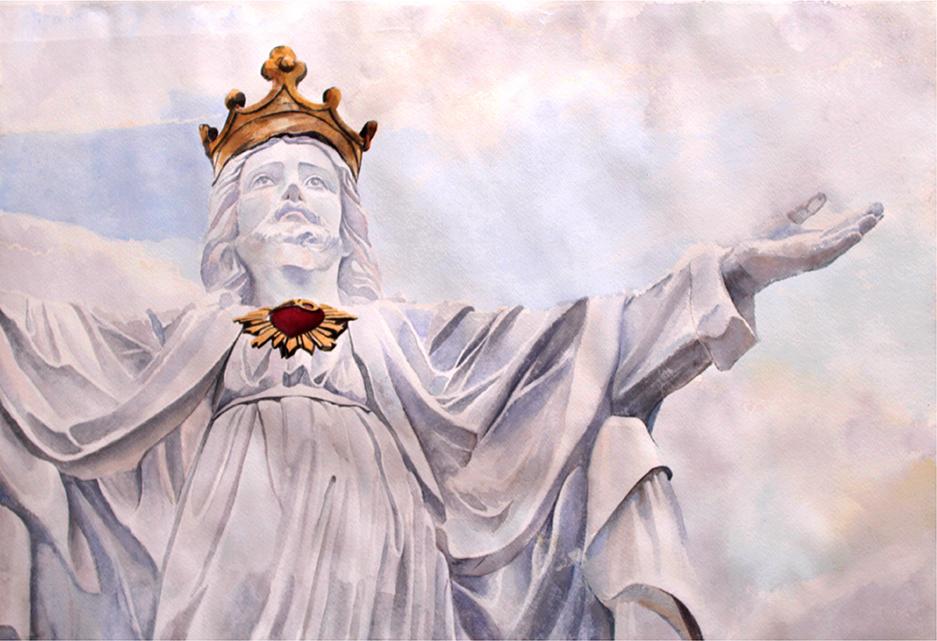 Retrato de Cristorey Villavicencio