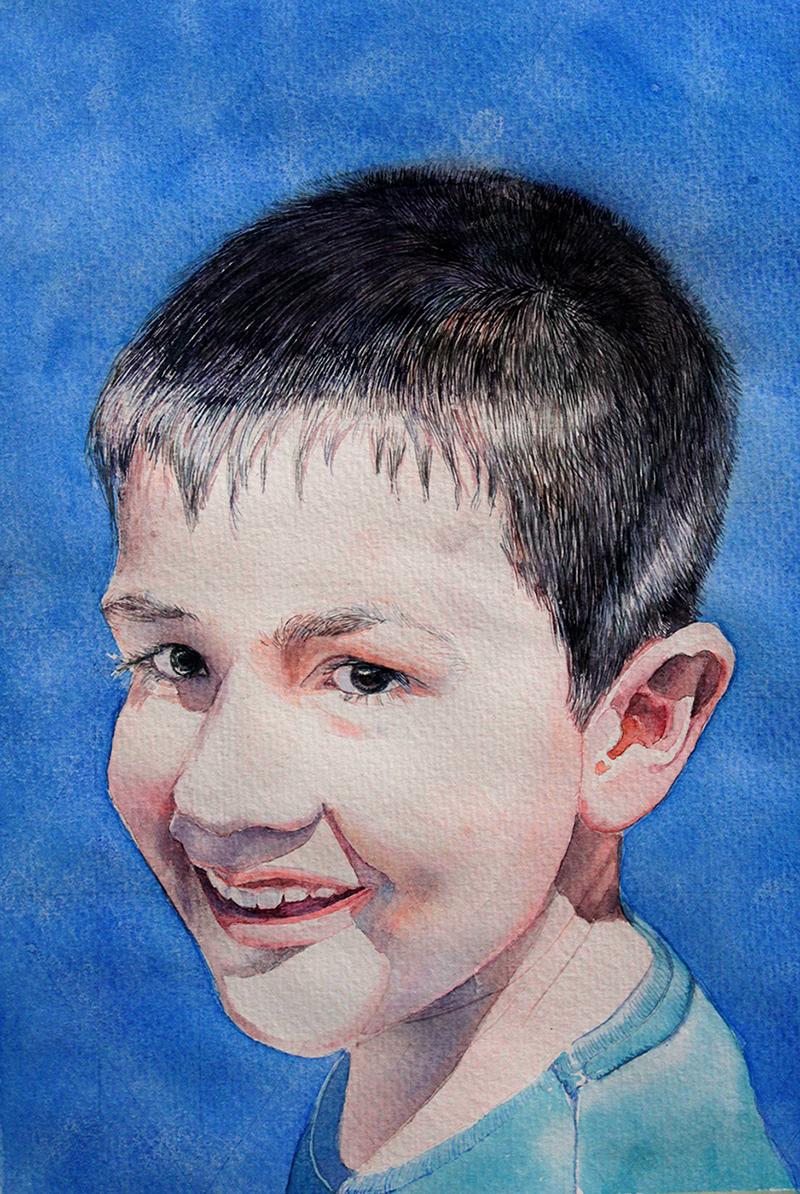 Retrato sobrino JM