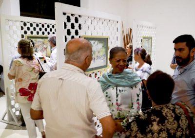Exposición en Club El Meta