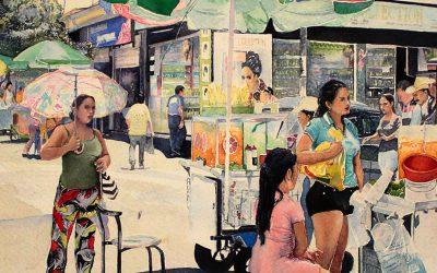 Preparadas en la calle 39 de Villavicencio (por Atila Galindo V.)
