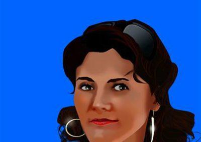 Ilustración de personajes JTA
