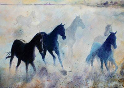ejercicio caballos