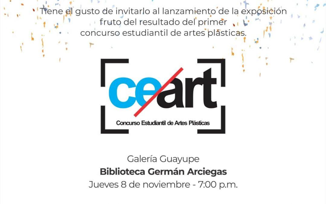 CE/Art, Concurso Estudiantil de Artes Plásticas – Galería Guayupe – Biblioteca Germán Arciniegas, Corcumvi – Villavicencio